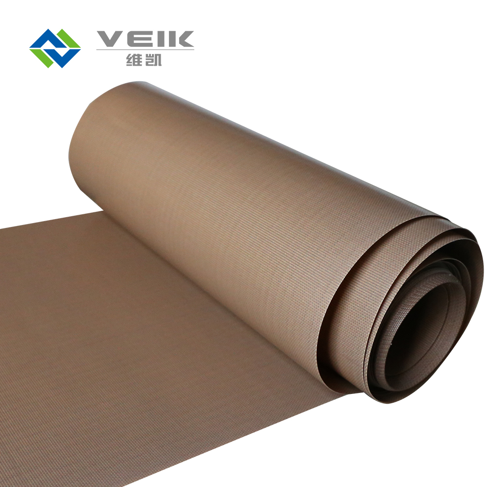 0.125mm thickness Heat resistant ptfe coated fiber glass fabric