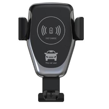 2019 new 10W Universal Gravity Sensor Automatic Wireless Fast Charging Car Mount Quick Charger