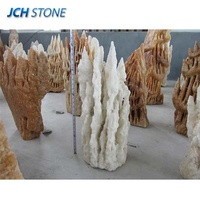 Stalactite landscape natural stone different types decorative landscaping stones