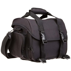 Camera Gadget Bag with Durable Eva Bottom Protection for Sony Canon Nikon DSLR/SLR Camera and Lens Tripod Accessories