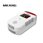 White Color gas leak alarm, Personal Security Usage Home gas/lpg System leak Alarm detector
