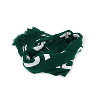 FREE PROOF Acrylic Knit Infinity Scarf High Quality Custom 100%acrylic Scarf Football Fan Knitted Sport Scarf For Event