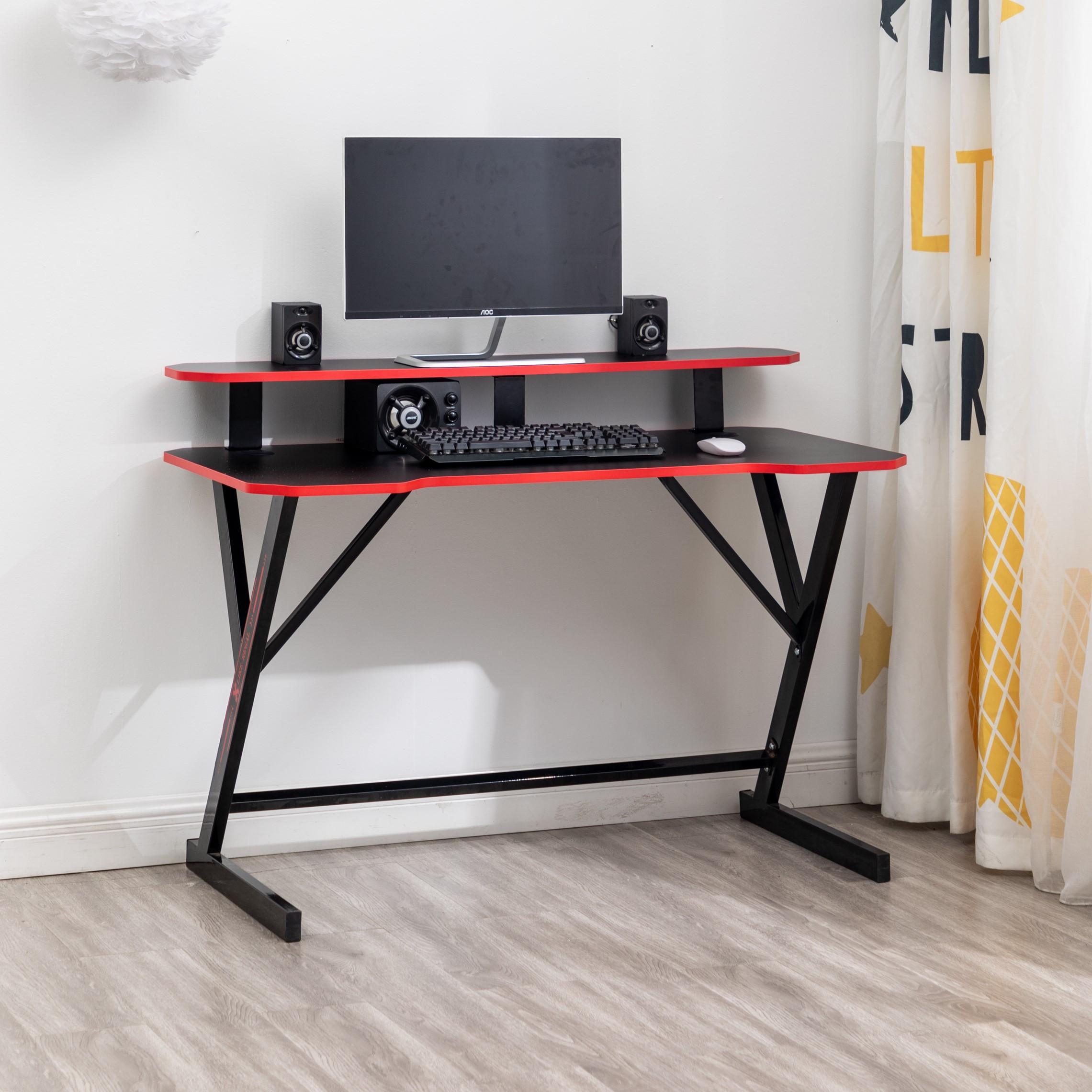 Настольный компьютерный стол деревянный черный Вишневый белый Вечеринка Oem деревянный стиль гостиная школа