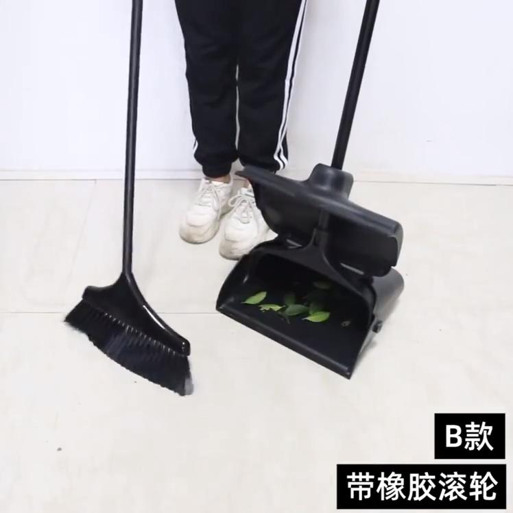 핫 잘 팔리는 인기있는 design 가정용 청소 Wind-proof 쓰레받기 및 빗자루 set 와 (high) 저 (품질