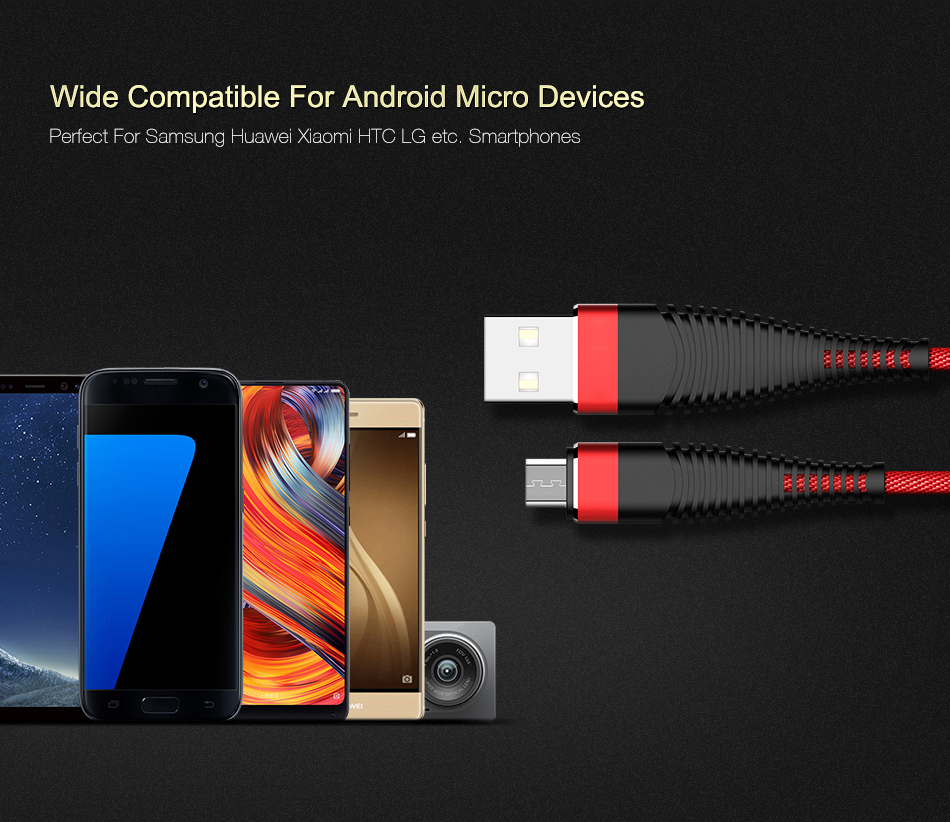 SIPU Fast High Tensile Type C Data For USB Android Usb Charging Cable