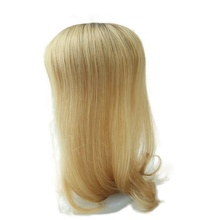 "TP04 16 ""Natural Reta Humano Remy Chinês <span class=keywords><strong>Cabelo</strong></span> Mulheres Peruca <span class=keywords><strong>Topper</strong></span>"