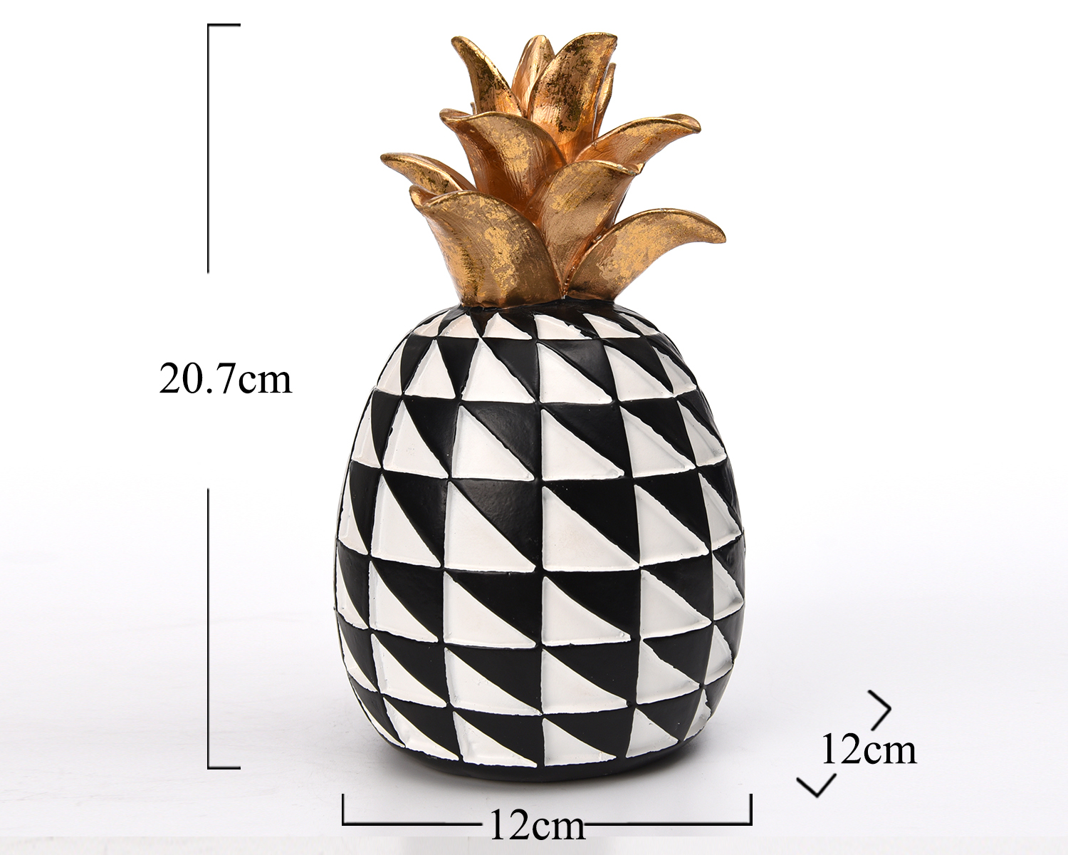 Europe Morden Art Polyresin Resin Geometric Fruit Small Figurine Statue  Gift Craft Pineapple Wholesale Home Decoration   Buy Diy Home Pig ...