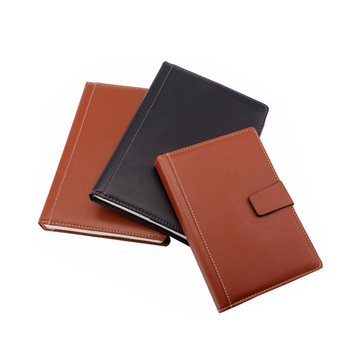 Professional leather cover book customised jotter/booklet printing wholesale