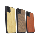 Manufacturer Dustproof Uv Print Slim Real Real Soild Blank Genuine Real Wood Cell Phone Cover For Iphone 11 Pro Max