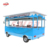 electric fast food truck food trailer cart mobile hot dog cart