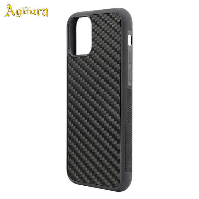 Carbon fiber 3K twill  real two-in-one for Apple iPhone11 6.5  tpu pc case