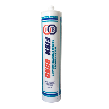 Stone Material Sealing No Solvent 300Ml Clear Silicone Sealant