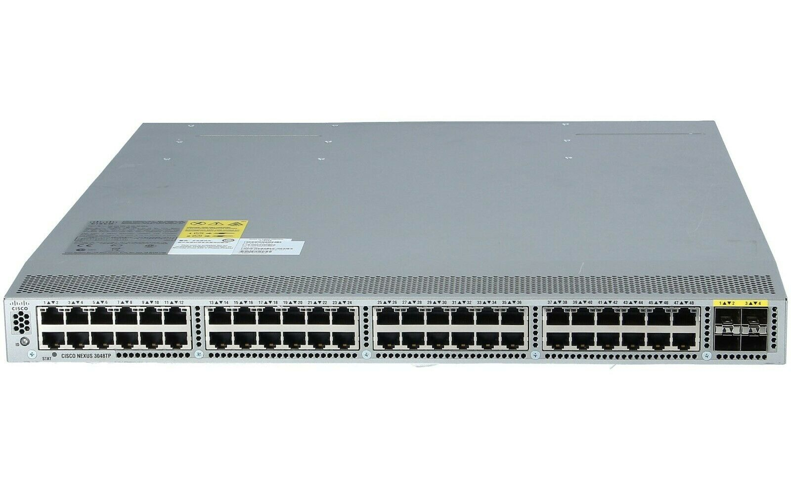 N3K-C3064PQ-10GX Nexus 3064-X 48 SFP 4 QSFP Ports Gigabit Ethernet Switch