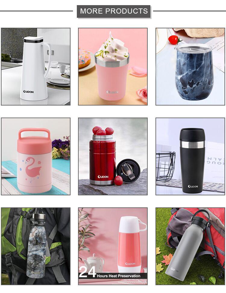 Rvs opslag containers voedsel fles geïsoleerde fles kruik vacuüm voedsel jar