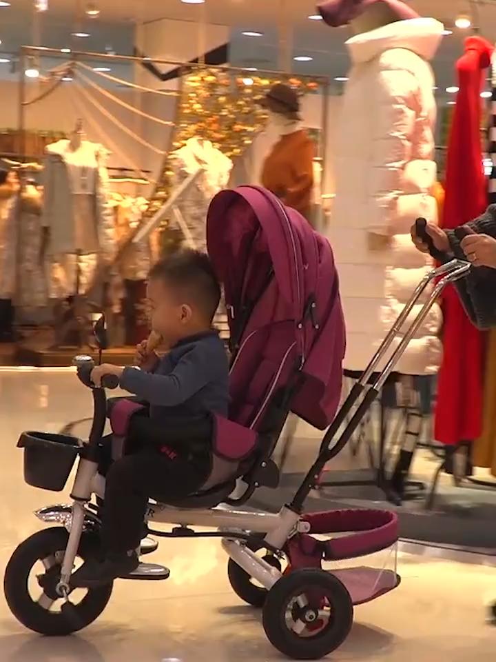 Bambini a buon mercato Nuovo Modello 4 in 1 Pieghevole Prezzo All'ingrosso Del Bambino Triciclo, Giro Bambino Sul Giocattolo Trike