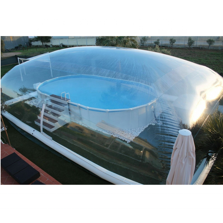 clear inflatable bubble dome cover,inflatable swimming pool dome  tent for Winter