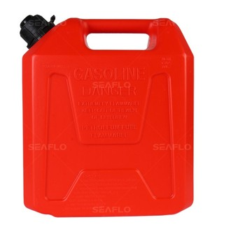 SEAFLO Plastic 5L 10L 20L Fuel Tank Petrol Diesel Gasoline Oil Jerry Can and Holder