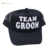 Wholesale summer sun protection groom mesh cap baseball fashion sports decoration baseball team bride cap