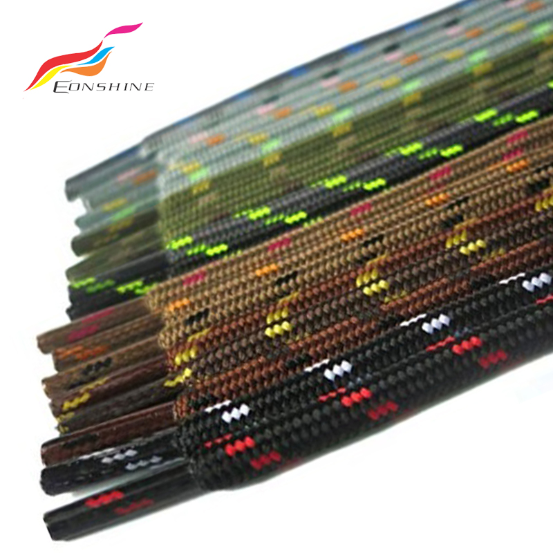 Wholesale Colored 47 Inch Long Thin Patriot Style Stripe Shoelace Shoe String for Sneakers