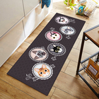 Bathroom [ Rug Carpet ] Washable Rug Carpet Printing Fabric Durable Popular Kitchen Mat