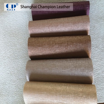Eco Friendly Interior Decoration Suede Synthetic Pvc Leather Textiles Pu Leather Products Fabric For Sofa