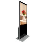 43 inch floor stand IR or capacitive touch Win10 lcd digital signage display for indoor digital advertising player
