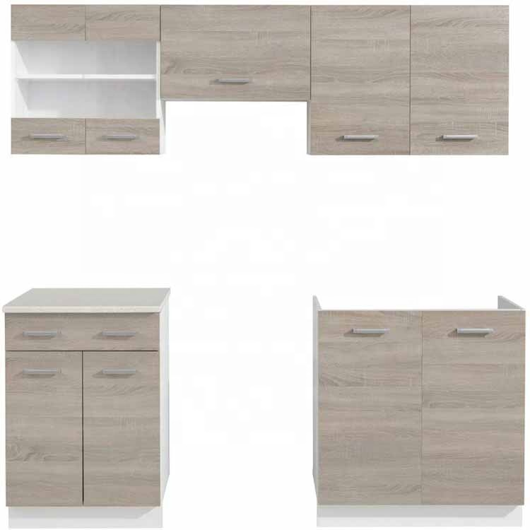 custom curved contemporary complete compact commercial china cheap modern hinges chipboard kitchen cabinet set