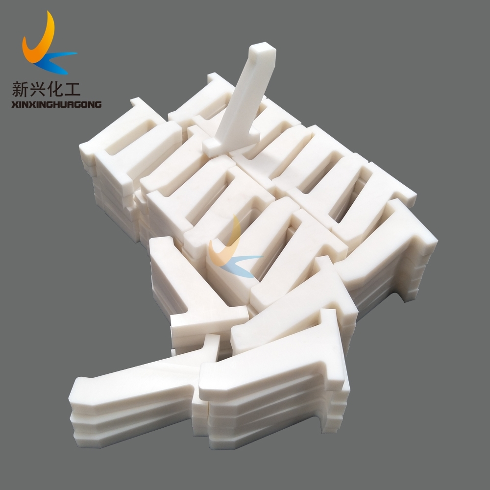 UHMWPE conveyor scraper UHMWPE block scraper UHMWPE scraper without water absorption and non stick to the conveyor idler surface