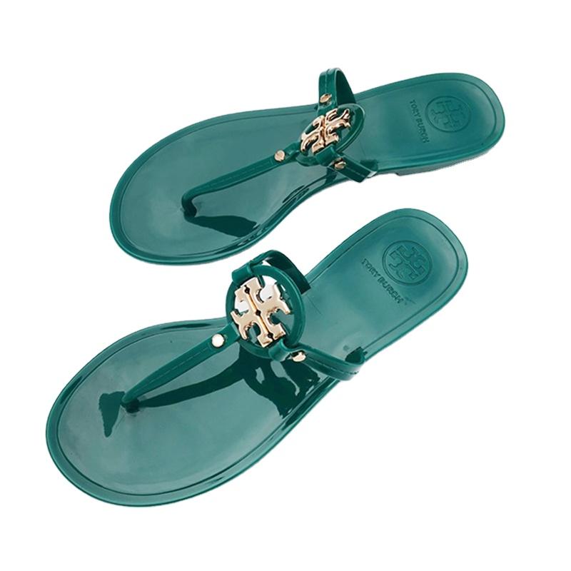 Superior Quality Shock Absorb Women's Miller Flip Flops Flat Sandals, White , green , black , skin color , khaki , transparent