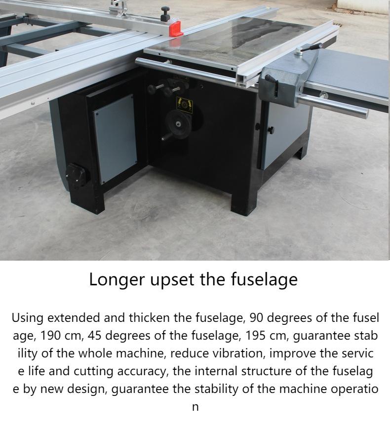 عالية الأداء آلات النجارة 90 درجة قطع المجلس رأى تستخدم لقطع الخشب 1600 مللي متر دفع مقاعد البدلاء