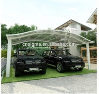 New innovative aluminum car garage quest canopy carport