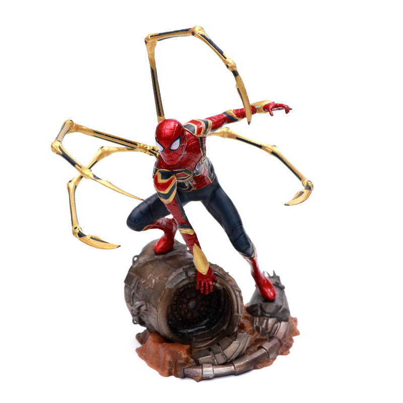 New War Clothes-Spider-Man Scene Paw with Boxed Decorations
