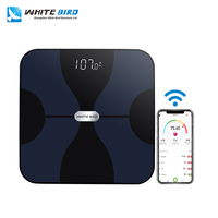 Commercial Portable Household Bathroom Body Fat Bluetooth Digital Electronic Weighing Scale