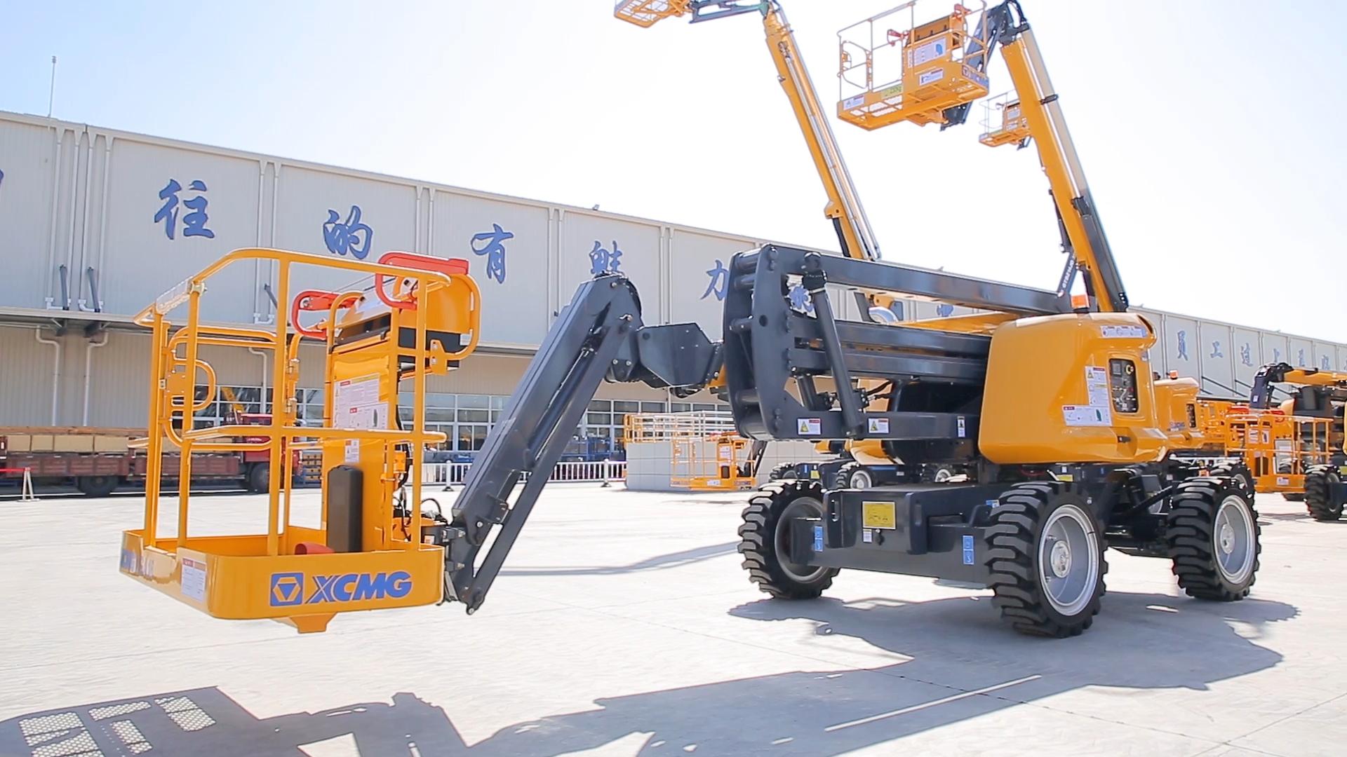 XCMG हवाई काम मंच 15 m GTBZ14JD व्यक्त manlift कीमत