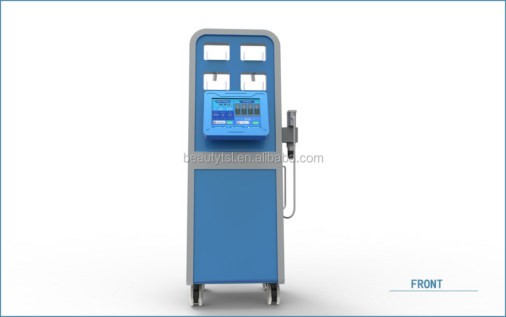 LINGMEI new technology combined cryo +ems in one pad cryo therapy shock wave cellulite removal machine 10