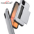For iPhone 11 2019 Slim Phone Case Protective Shockproof Hybrid Armor Cover with Sliding Card Holder Soft TPU Rubber Case