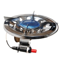 JG Portable Camping Stove Burner with Long Brass Valve