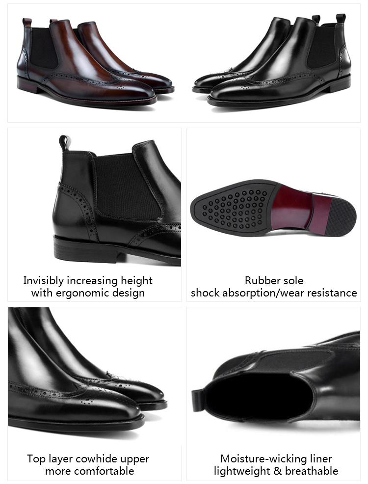 Бесплатная доставка Премиум alibaba мужские дизайнерские ботинки Дешевые Роскошные модельные туфли с острым носком мужские кожаные ботинки челси для мужчин