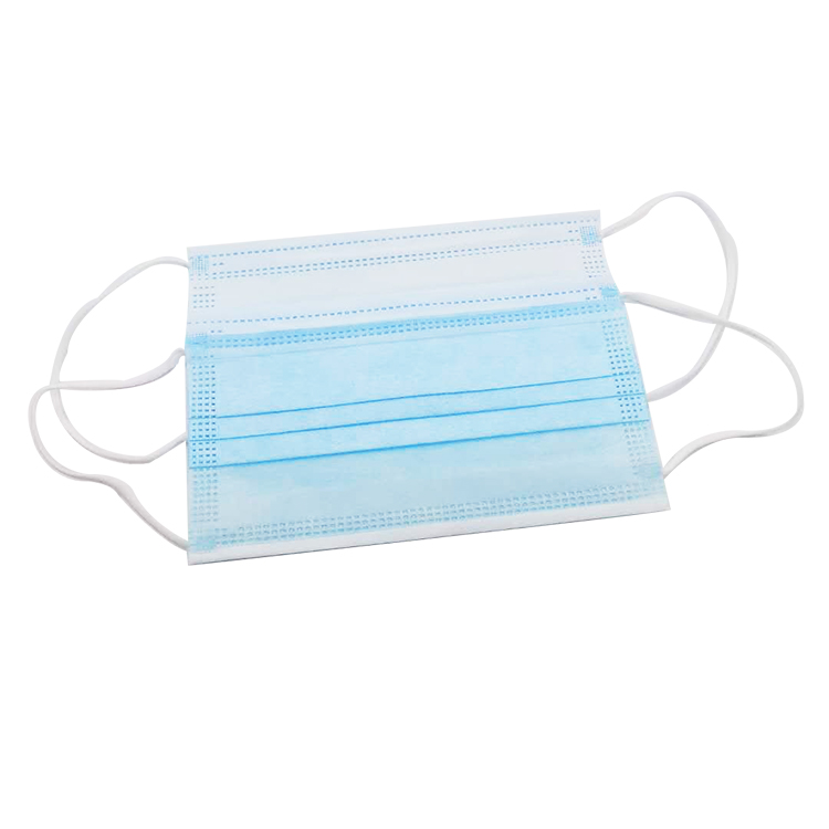 Wholesale Large stock medical surgical mask 3ply disposable non-woven anti-dust face mask disposable earloop