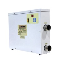 5.5kw 12kw 24kw 36kw 54kw 60kw 110v 220v 380v digital electric swimming pool spa water heater for sale