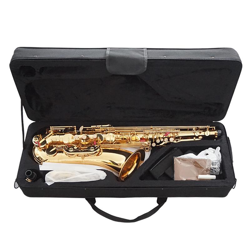 Venda por atacado chinês feito de boa qualidade sinomusik dourado eb saxofone alto