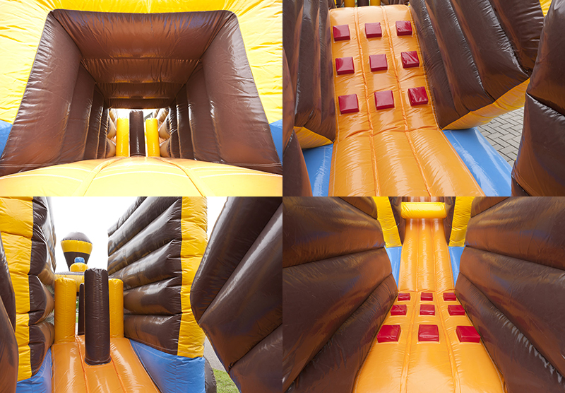 Factory Custom Inflatable Giant Amusement Park Adult 5k Inflatable Obstacle Course