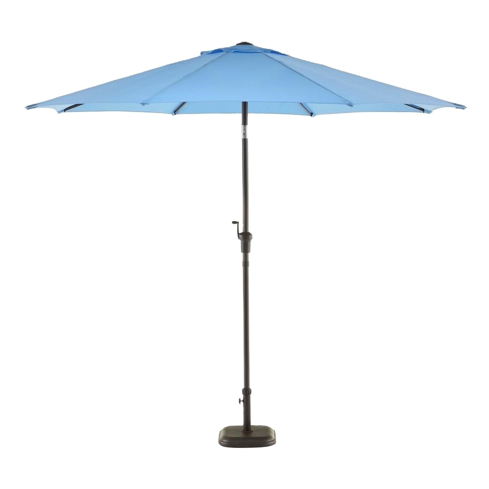 Promotion lowest price luxury commercial umbrella large size more stable and durable custom printed patio umbrella