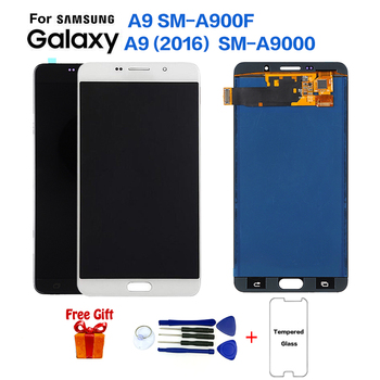 Good Supplier Cellphone 6.0 inches LCD Screen Display For Samsung Galaxy A9 A9000 A900F LCD Complete