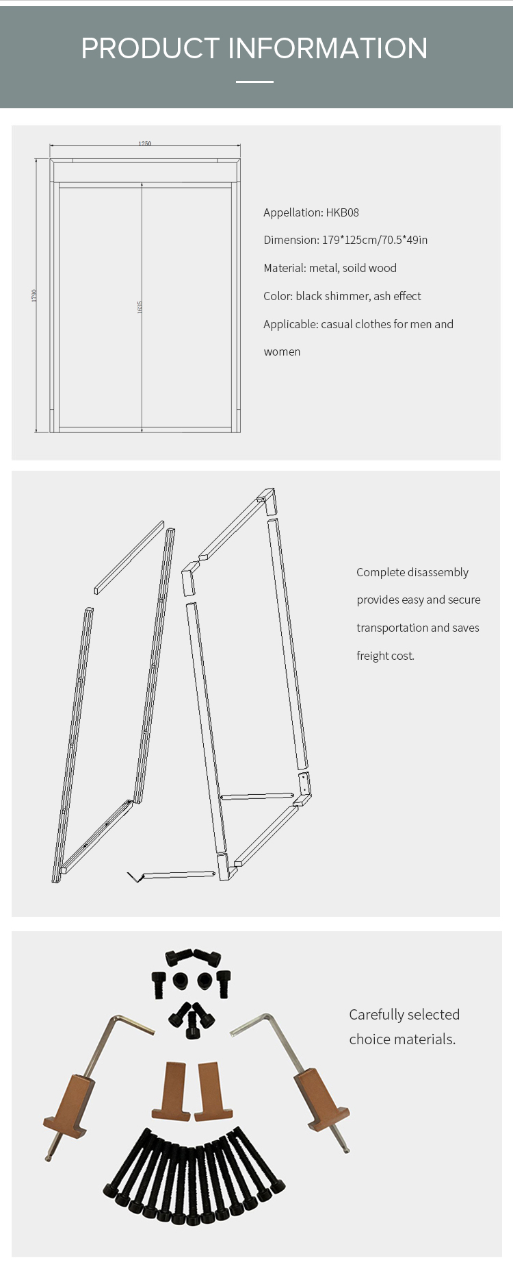 HK деревянная и Металлическая Витрина для одежды, висячая стойка, витрина для магазина одежды, витрина для магазина одежды, дизайн интерьера, витрина