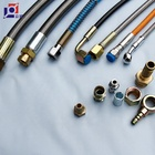 Steam Pipe Steam Hose High Temperature Steam Pipe Steel Flexible Braided Ptfe Hose With Various Coupling