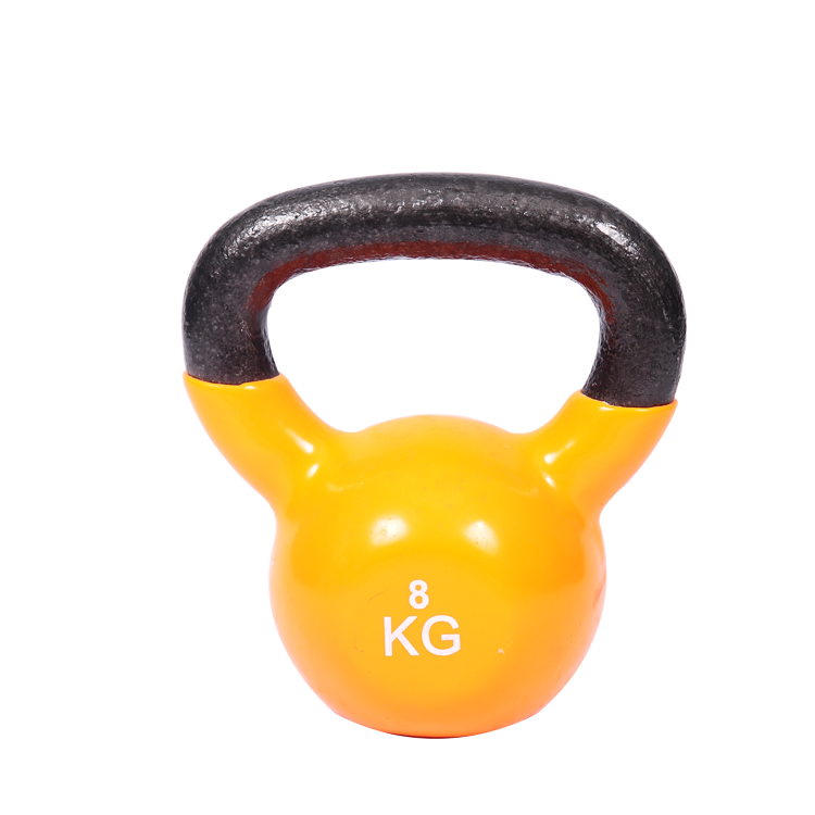 Neoprene Kettlebell Solid Cast Iron Vinyl Coated Kettlebell