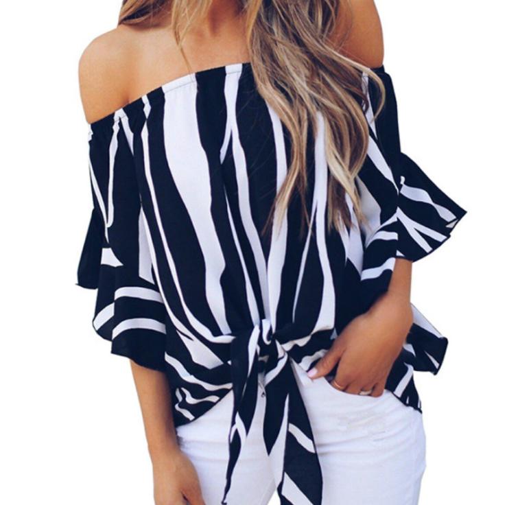 2020 Nieuwe Fashion Zomer Dames Blouses & Tops Vrouwen Top Shirt En Blouses Dames Blouses