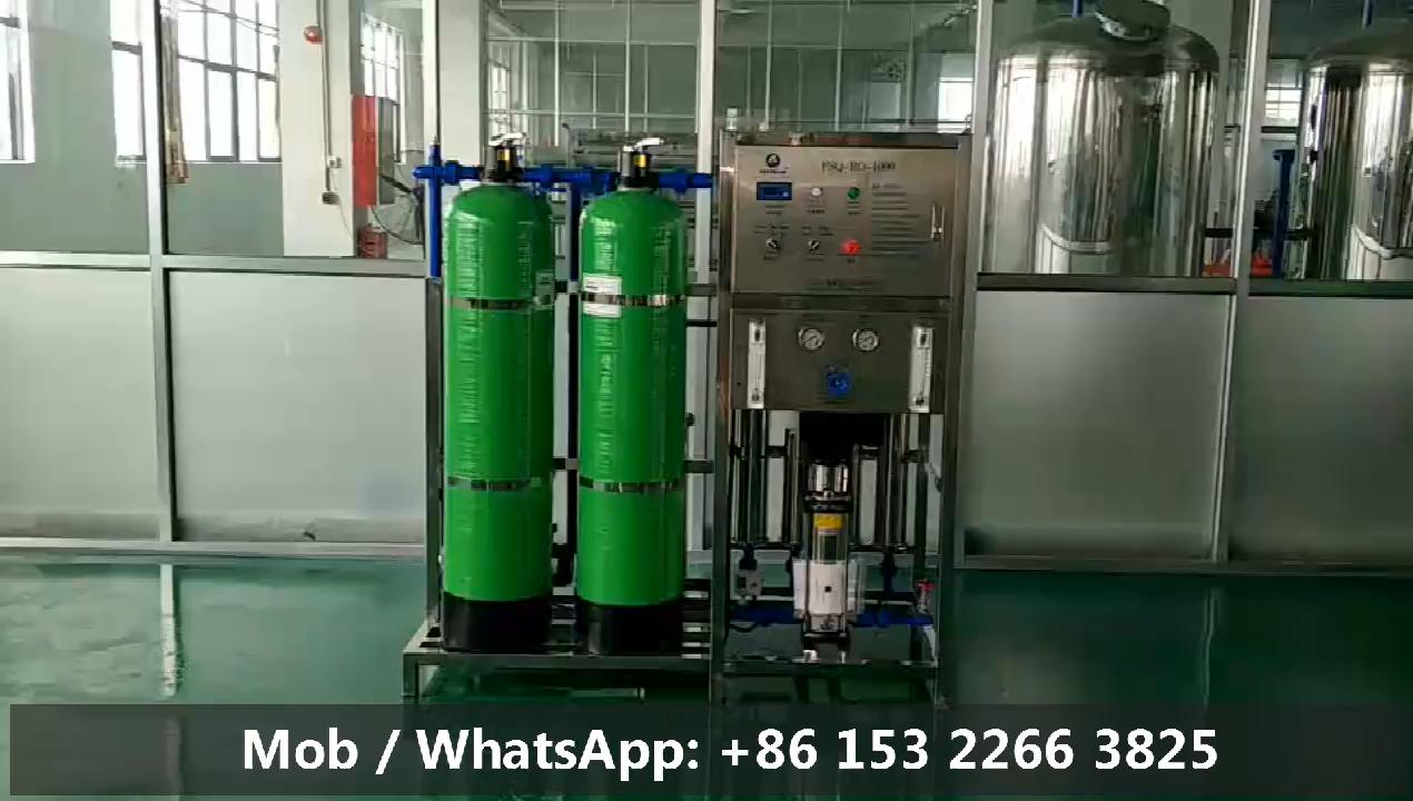 Fostream 1000 Liter Per Uur Kleine Schaal Omgekeerde Osmose R O Zuiver Water Zuivering Filtratie Ro Water Behandeling Machine