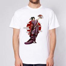 Аниме футболка один кусок Harajuku футболка Luffy забавная футболка Зоро Графические Топы оверсайз мужская одежда Уличная эстетика белый(Китай)